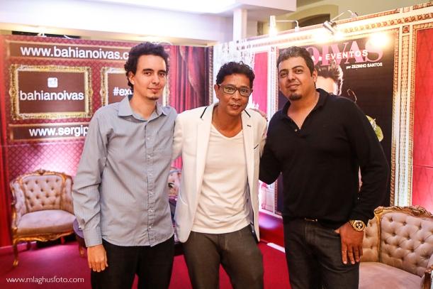 Zezinho Santos e a equipe M.Laghus